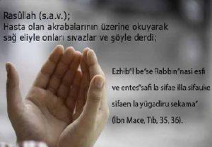 Hastalara Okunacak Şifa Duaları 1 İlim Saati