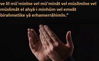 Abid Zümresinden Olmak İçin Dua 2 İlim Saati
