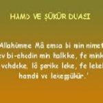 Dua: Hamd ve Şükür Duası 3 İlim Saati