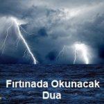 Fırtınada Okunacak Dua 5 İlim Saati