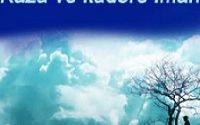 Kader ve Kazaya İman 3 İlim Saati